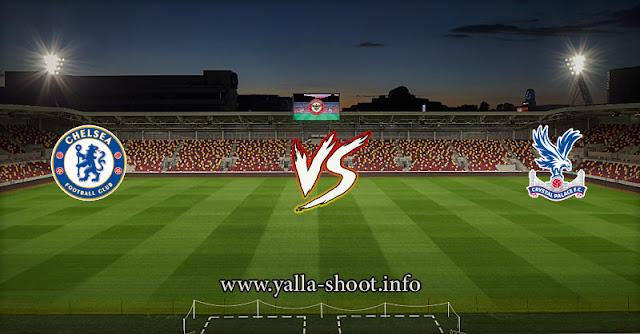 نتيجة مباراة تشيلسي وكريستال بالاس 10-4-2021 يلا شوت الجديد في البريميرليج