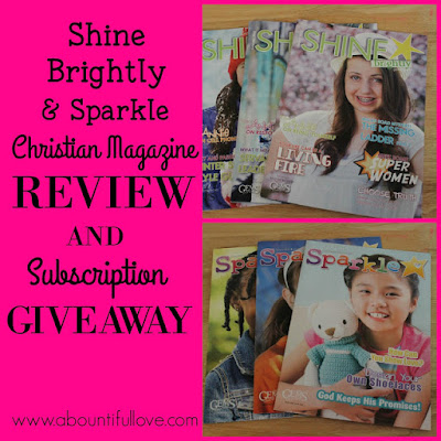 http://www.abountifullove.com/2016/05/shine-brightly-and-sparkle-magazine.html