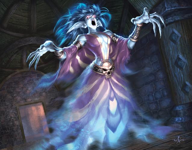 Vyldara the moon elf banshee ambassador of Axeholm