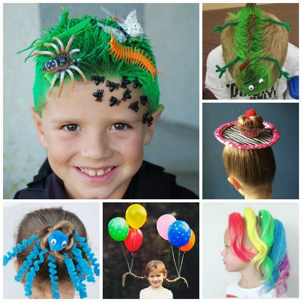 Crazy Hair Ideas for Kids | Growing A Jeweled Rose