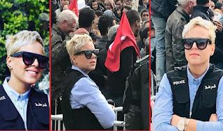 بالصور / شرطية تونسية تثير الجدل على مواقع التواصل الاجتماعي !