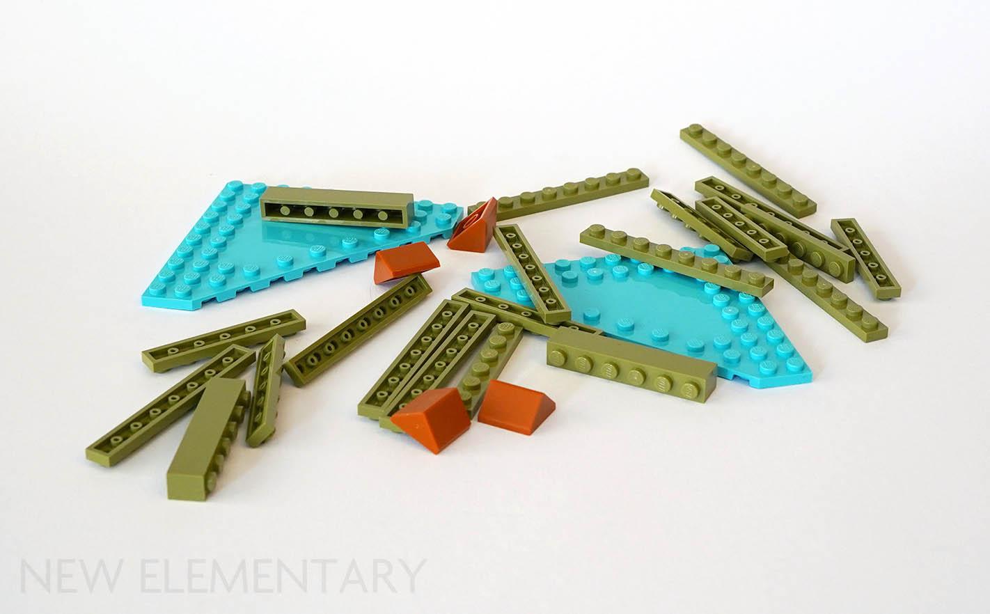 Brick 3 x 2 Slope 33 Lego Duplo BN