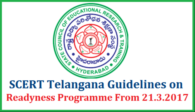 Rc 615 SCERT Telangana Certain Guidelines on Academic Activities Readyness Programme Action Plan after SA II