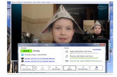 Cara Merekam Suara dan Video Panggilan Skype