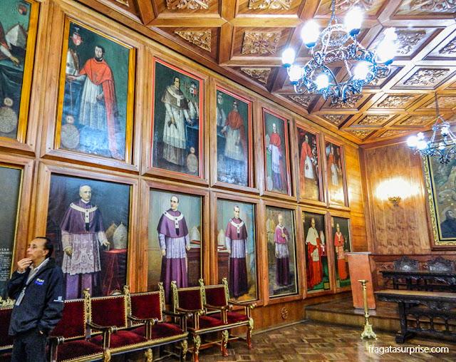 Sala Capitular da Catedral de Quito