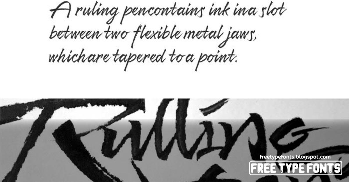 Resphekt, Brush Type Handwriting Font - Download | Free Type