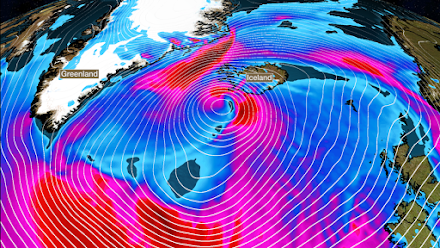 """Η καταιγίδα 'Dennis"""" σαρώνει την Ισλανδία (video)"""