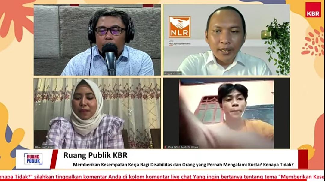 Ruang Publik KBR yang dipersembahkan KBR dan NLR Indonesia dan disiarkan di Youtube KBR
