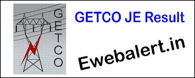 GETCO JE Result