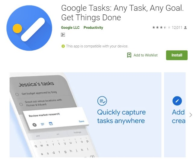 How to Create Task from an Email in Gmail and Google Tasks App?