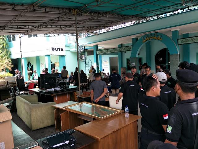 """Eksekusi Gedung Astranawa Ricuh, Isi Kantor Media """"Diacak-acak"""""""