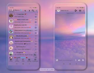 Ceu Roxo Theme For YOWhatsApp & Fouad WhatsApp By Luna