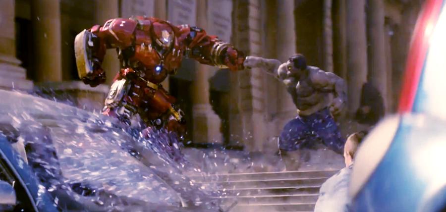 Confruntare epică: Hulk vs. Iron Man în noul clip Avengers: Age Of Ultron