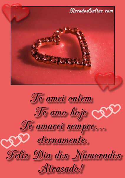 Mensagem Dia Dos Namorados Para Namorado E Namorada