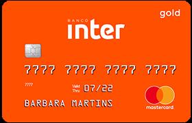 cartão de crédito Inter Mastercard