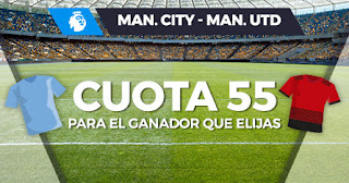 Paston Megacuota doble City vs United 29 enero 2020