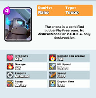 clash royale mini pekka card