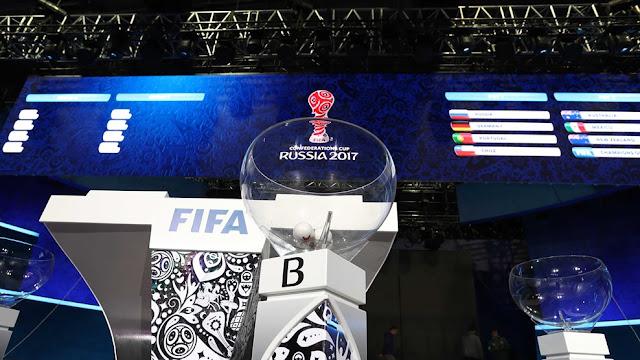 Sorteo Copa Confederaciones 2017