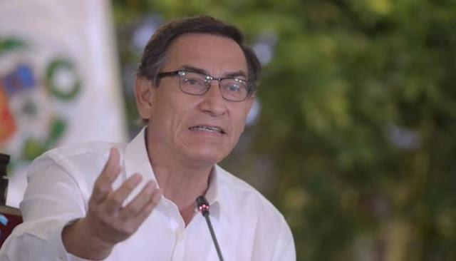 Martín Vizcarra propone incluir, en el Pacto Perú, problemática de pensionistas de la ONP
