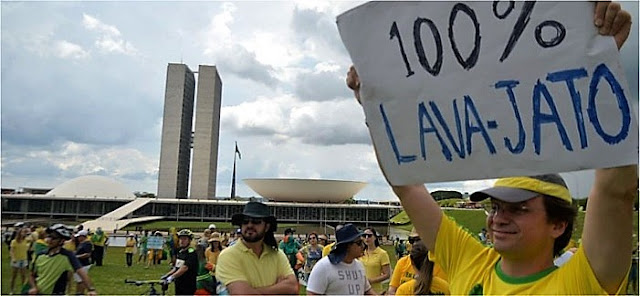 Brasil tem domingo de manifestações pró Operação Lava Jato