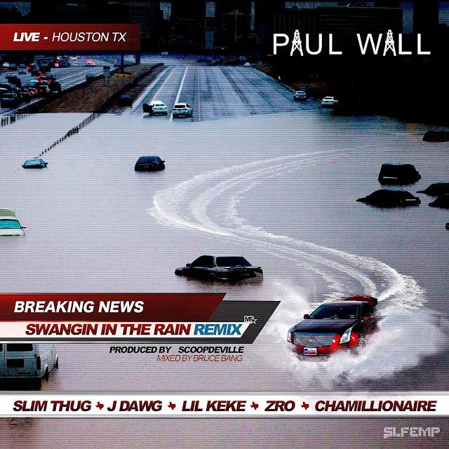 Paul Wall – Swangin In The Rain (Remix) (feat. Slim Thug, J-Dawg, Lil Keke, Z-Ro & Chamillionaire)