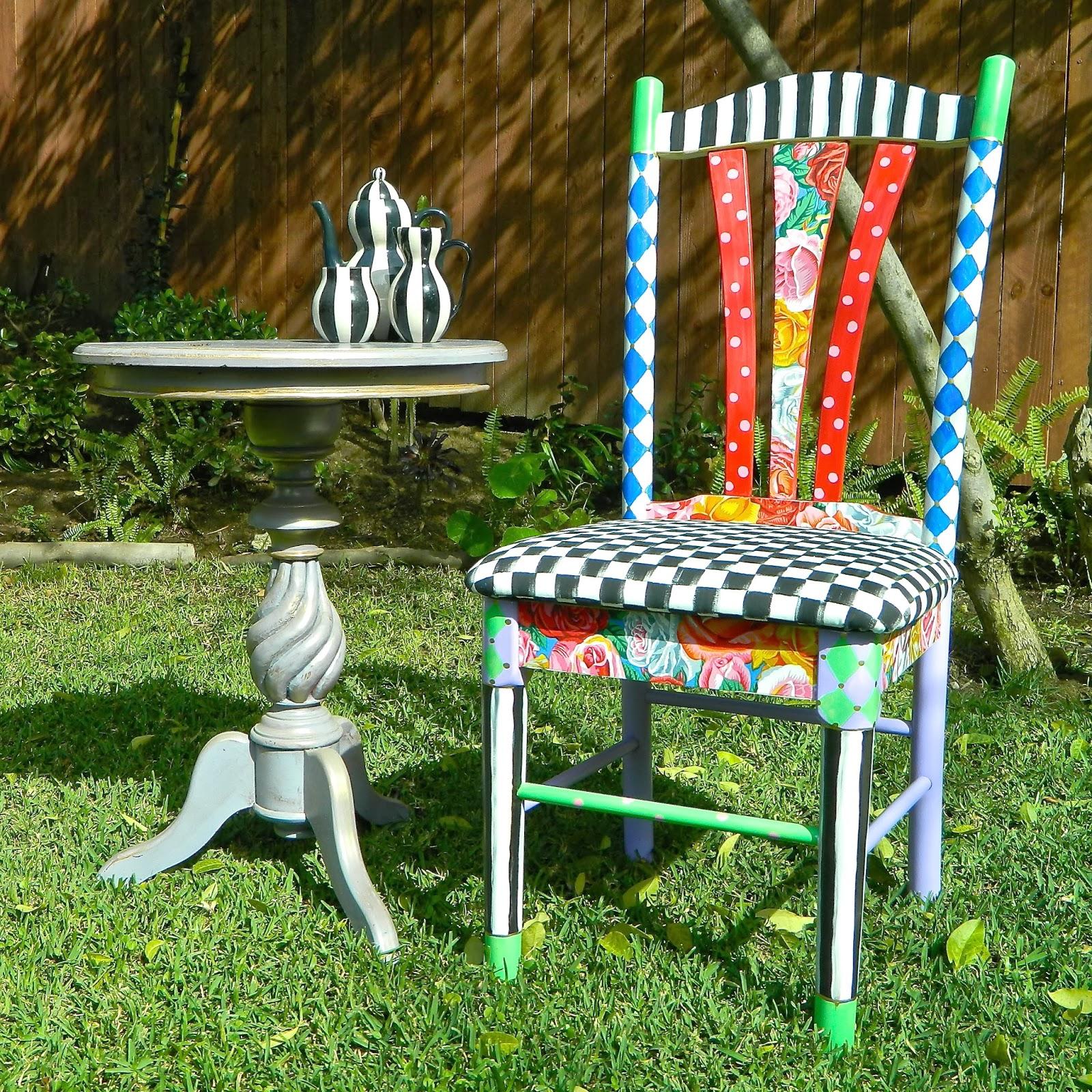 Alice In Wonderland Chair Slipcovers Walmart Mark Montano Diy