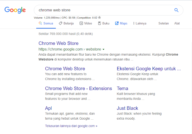 situs chrome webstore
