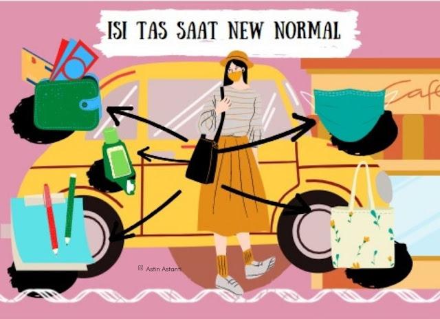 mempersiapkan perjalanan saat new normal