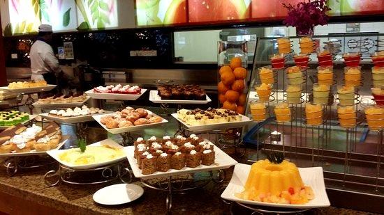 menu pastry dan roti hotel concorde di shah alam
