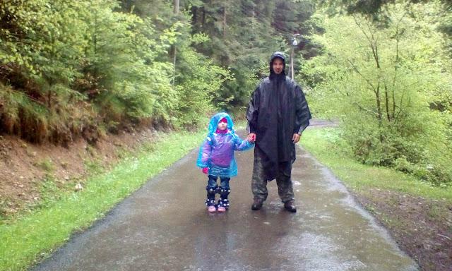 Под дождём в урочище Павлов поток