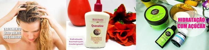 Tratamentos para cabelos danificados e quebradiços