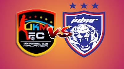 Live Streaming UKM FC vs JDT II Challenge Cup 12.10.2019