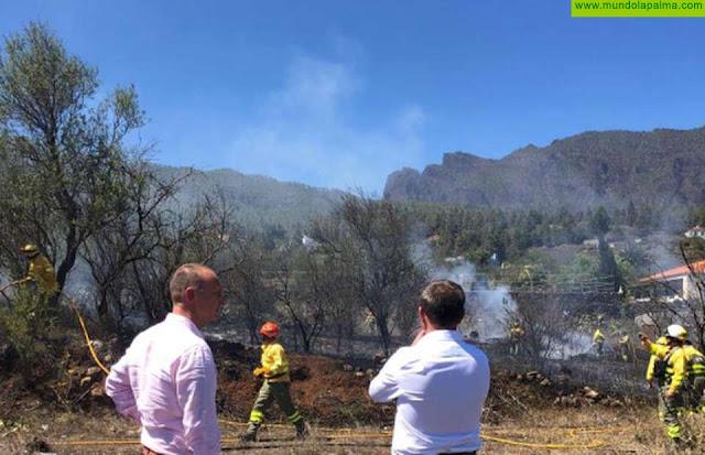 El Paso, primer ayuntamiento de Canarias en someter a pleno su Plan de Acción Local por Incendios Forestales