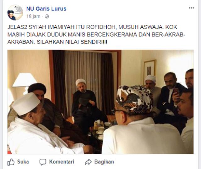 Meluruskan Cara Fikir NUGL yang Buruk Sangka Terhadap Habib Luthfi