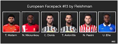 PES 2021 European Facepack #13 by Fleishman