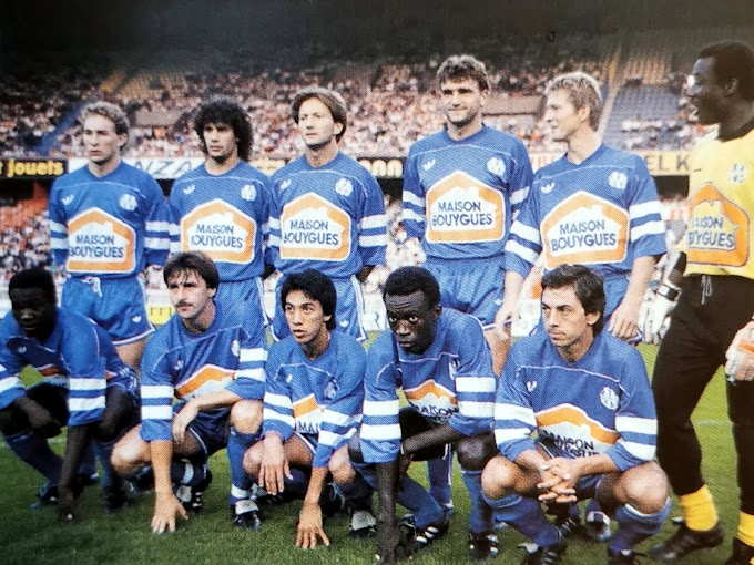 OLYMPIQUE DE MARSEILLE 1987-88.