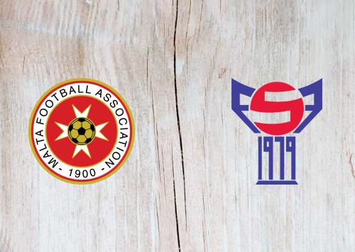 Malta vs Faroe Islands -Highlights 17 November 2020