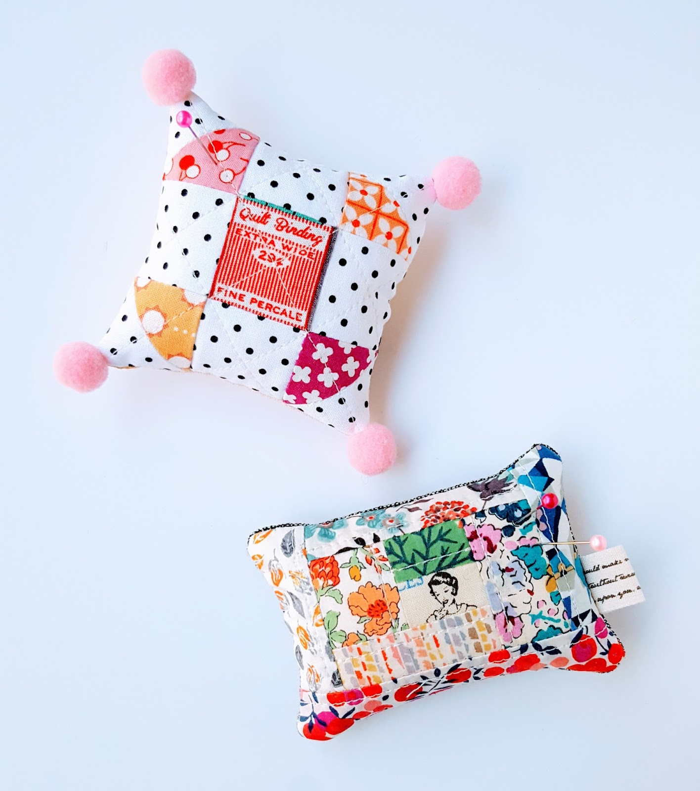 Pin By Storytelling On Happy Fabric: Fabric Mutt: Happy Flower Quilts: Pin Cushions & A Giveaway