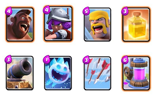 Dek Heal Spell Clash Royale Terkuat