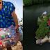 Isang Lalaki Ang Gumawa ng Artificial Na Isla Gawa Sa Plastic Bottles at Iba Pang Basura