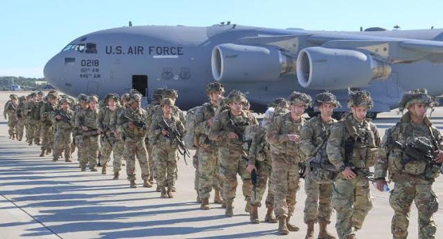 Soldados americanos se preparando para missão no Irã (Imagem: Divulgação/Internet)