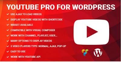 Youtube Pro for WordPress