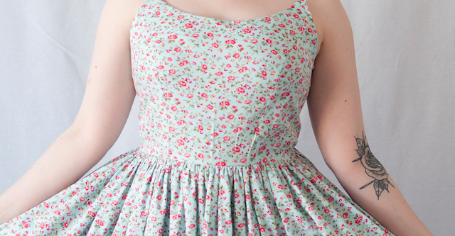 Butterick Patterns by Gertie B6453 - The Ultimate Retro Summer Dress!