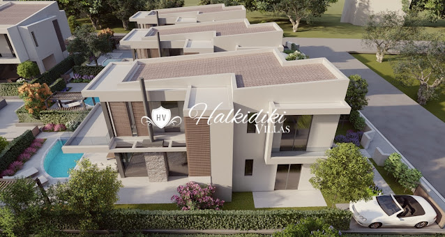 villas for sale sithonia halkidiki