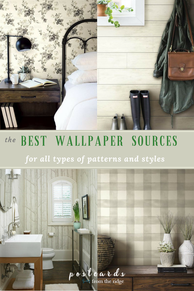 27 Reasons You Should Be Using Wallpaper | Postcards from the Ridge