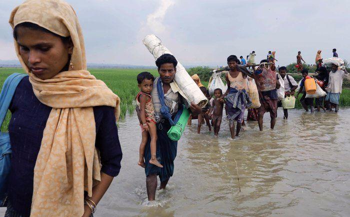 Myanmar Bantah Tuduhan Menembaki Pengungsi Rohingya