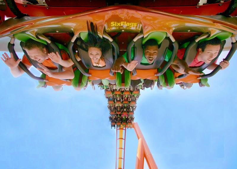 Parque Six Flags Magic Mountain Califórnia