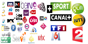 FR TF1-HD OSN BeIN Sport DE sky Action calcio