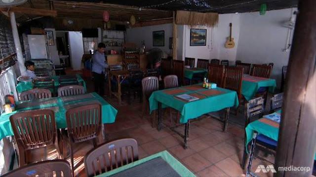 Nhà hàng vắng vẻ của ông Vuth Ung