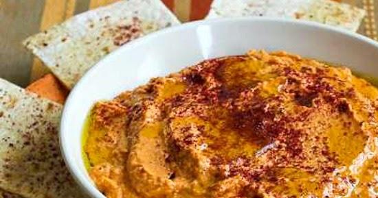 Kalyn's Kitchen®: Slow Roasted Tomato Hummus